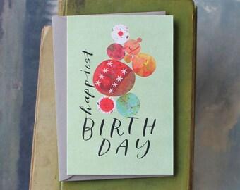 Birthday Carin // Single Card // Fawnsberg Stationery
