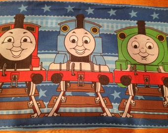 Thomas the Tank Engine STANDATD PILLOWCASE - Reclaimed Bed Linens
