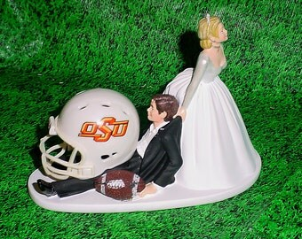 Buffalo Bills Football Lover Groom Wedding Cake By