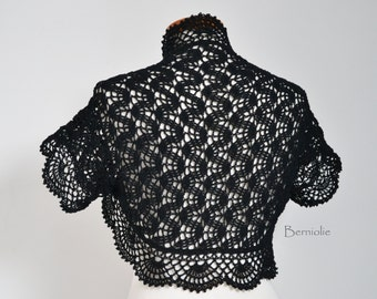 HANAKO, Crochet shrug pattern pdf