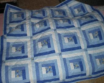 Patchwork lap quilts