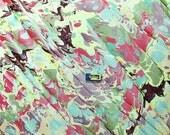 marbled paper, marmorpapier , Bookbinding, papier marbrè , marbled paper . carta marmorizzata cm 50 x 70  -    2523