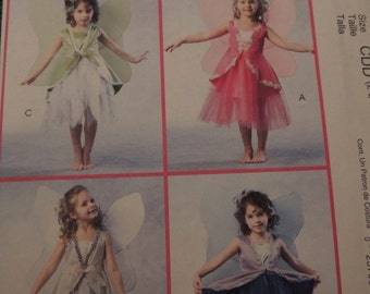 McCalls Fairy Costumes M4887