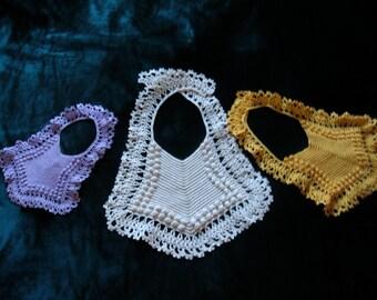 Newborn, Infant, and Toddler Dressy Baby Bib Pattern