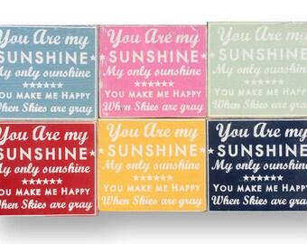 "You Are My Sunshine ""Fun Size"" 9 x 10"