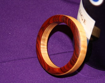 Cocobolo and Curly Maple