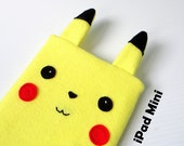 Pikachu Pokemon ipad case / tablet sleeve