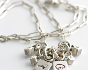 In It For The Long Haul Personalized Mom, Grandma, Daughter, Sister Necklace