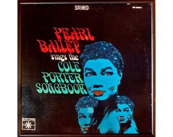 Glittered Vintage Pearl Bailey Cole Porter songbook albu art