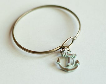 Anchor's Away Charm Bracelet