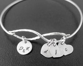 Personalized Mom Bracelet, Mom Gift for Christmas, Nana Gift, Grandma Gift, Grandmother Gift, Sentimental Gift for Mom, Sentimental Jewelry
