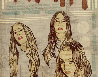 Haim Poster - Limited Edition of 100