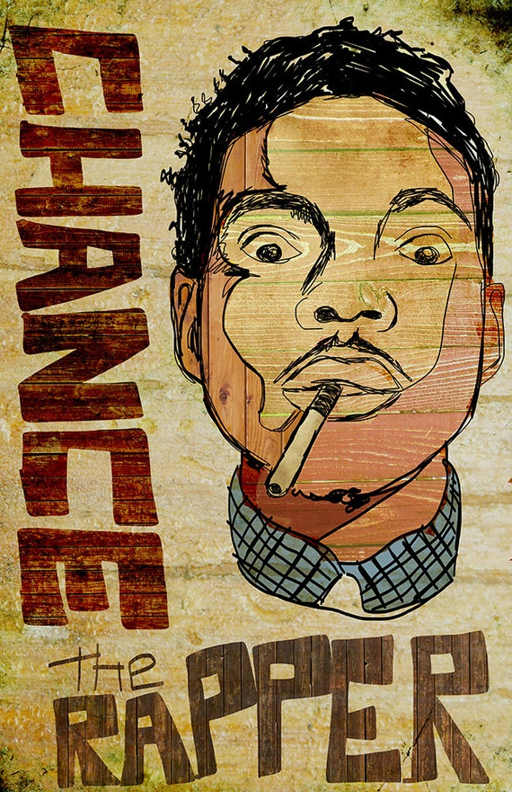Rapper Poster Names Chance The Rapper Poster