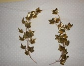 Brass Leaves Wall Decor Home Interiors Metal