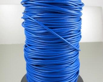 Royal Blue, Premium Greek Leather Cord, 1.9mm, 2 yards (6 feet)
