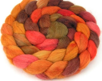 Baby Alpaca Combed Top - Pumpkin Pie