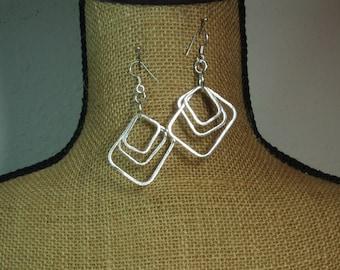 Handmade .925 Solid Silver Earrings