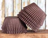 Brown Cupcake Liners, Brown Greaseproof Cupcake Liners, Brown Baking Cups, Bakery Cupcake Liners, Cupcake Wrappers, Basic Cupcake Liners