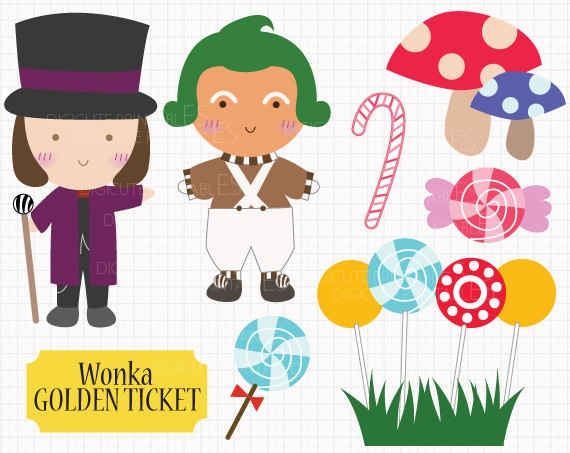 Film Inspired Willy Wonka And The Chocolate Factory Digital