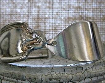 antique spoon bracelet,fork bracelet, knife bracelet silver plate