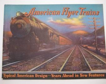 1934 American Flyer Trains Catalog