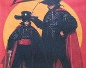 Zorro Costume Sewing Pattern UNCUT McCalls 6689 Child Sizes 7/8