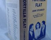 Tortilla Flat John Steinbeck (1942) Grosset & Dunlap MGM Movie Edition