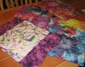 Quilted Placemats in Fun, Spring Colors - Easter, Mother's Day