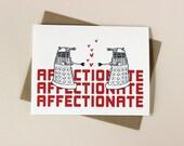 Doctor Who Inspired Dalek Valentine Card