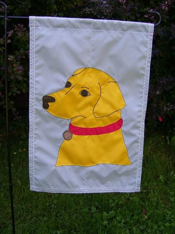 Labrador Retriever 12 Inch By 18 Inch Garden Flag