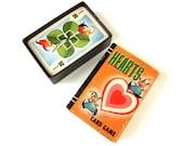 Whitman Miniature Hearts Card Game 1951 Complete VGC / Scrapbook Supply, Ephemera, Valentine Gift / Vintage Childrens Game