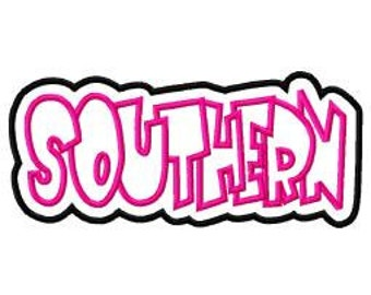 Southern Embroidery Machine Double Applique Design 4066 INSTANT DOWNLOAD