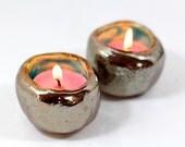 Israel Shabbat candlestick Ceramic Candle holders Holiday decor