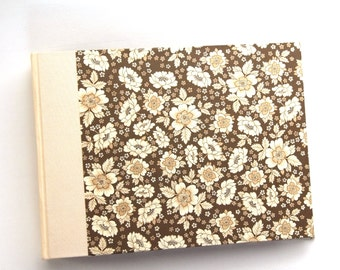 brown beige Photo Album English Flower in various sizes