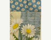 20% Off Handmade Daisy Oven Door Kitchen Towel
