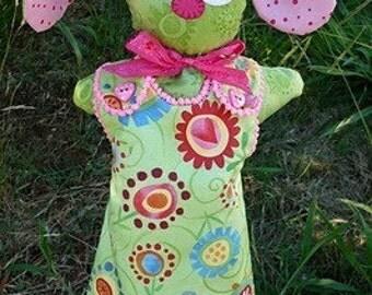 Honey Bunny Hand Puppet Pattern