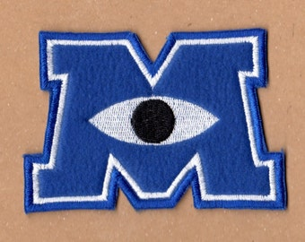Monsters University Logo Patch