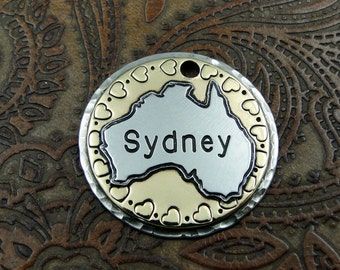 Australia Custom Dog ID Tag