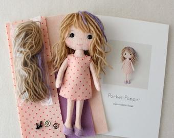 Pocket Poppet Pattern Kit - Callie