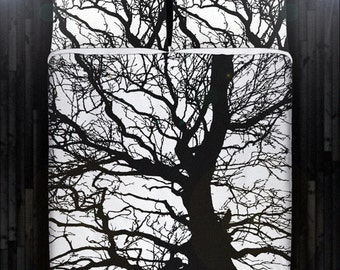 Gnarly Dead Branch Tree Duvet Cover Bedding Queen Size King Twin Blanket Sheet Full Double Comforter Toddler Daybed Kid Teen Dorm