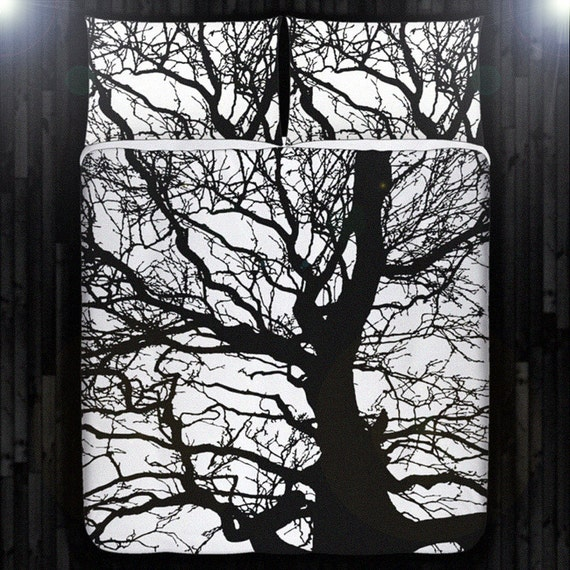 Gnarly dead branch tree duvet cover bedding queen size king twin
