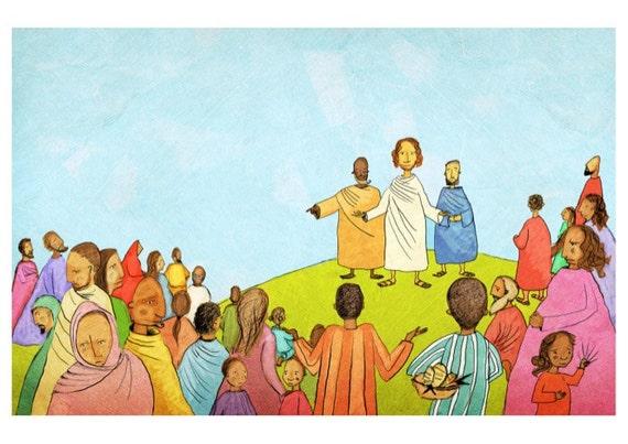The Jesus Storybook Bible - 72 dpi Digital File (Page 244 - 245)