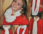Custom crocheted cowl...