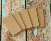 50pc Recycled Plain KRAFT Eco Series Business Card Blanks