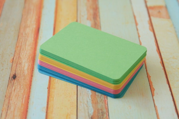 500pc ROMANTIC Vintage Series Business Card Blanks