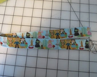 Little Wizard Of Oz Characters lanyard