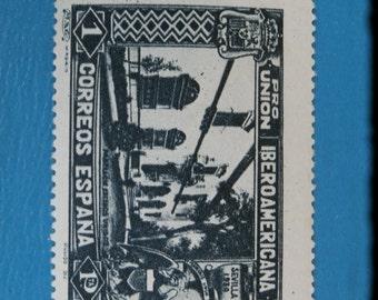 1930 Pro Union Iberoamericana 1 P Stamp Correos Espana Spain