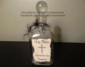 Holy Water Glass Vampire Bottle Decanter
