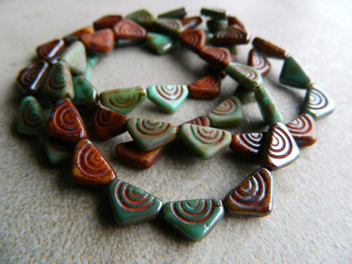 Etsy Czech Glass Beads