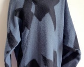 RESERVED Sale Issey MIYAKE 80s wool mix asymmetric sweater dress